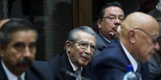 Ríos Montt, exdictador guatemalteco, será juzgado por el genocidio de 1.771