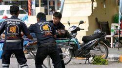 Al menos 10 extranjeros heridos durante una serie de atentados en