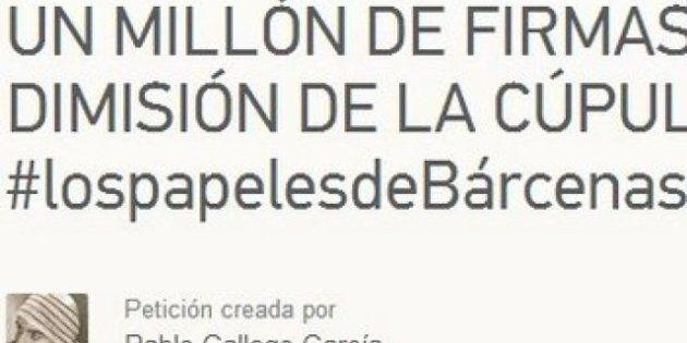 Más de 270.000 firmas piden la cabeza de Mariano Rajoy en