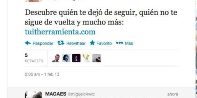 Esperanza Aguirre, preocupada por quién le dejó de seguir en Twitter tras el escándalo