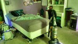 Si tu hijo dice que su habitación ya está limpia... ¡no te