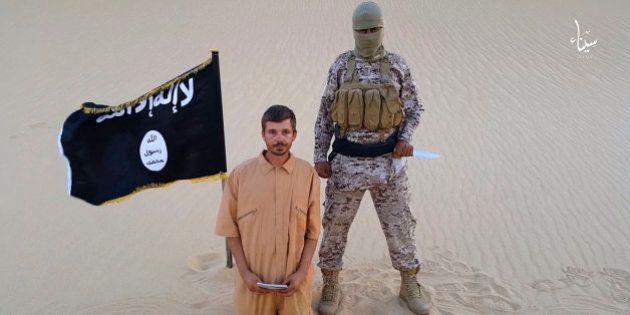La rama egipcia del Estado Islámico asegura haber decapitado al rehén