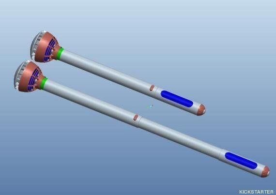 El paraguas eléctrico que querrás tener (VÍDEO,