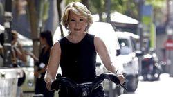Aguirre y sus problemas con la bici: