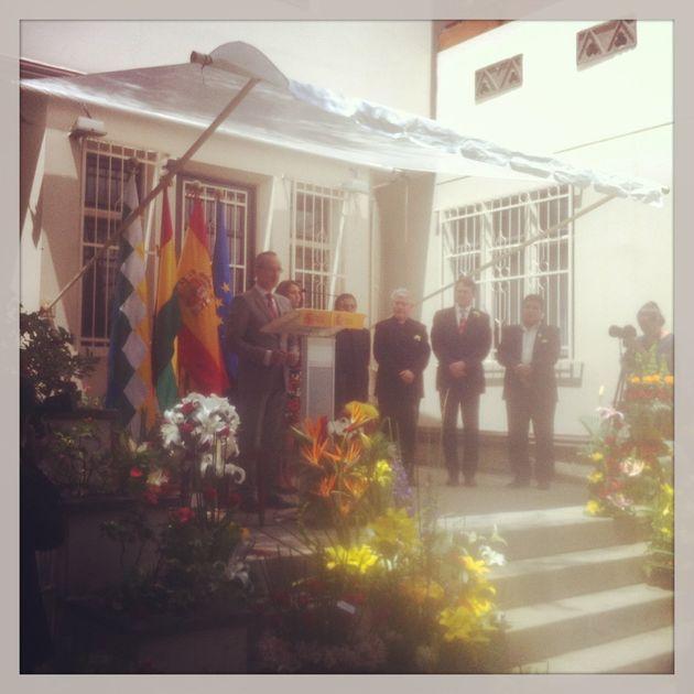 Evo Morales en el universo místico