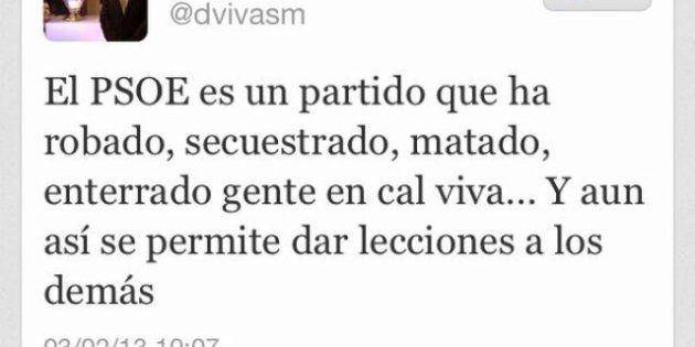 El concejal del PP Diego Vivas: