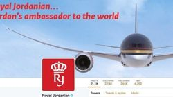 El ingenioso tuit de una aerolínea jordana sobre Donald