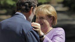 Rajoy se enfrenta en Berlín a las preguntas del 'caso