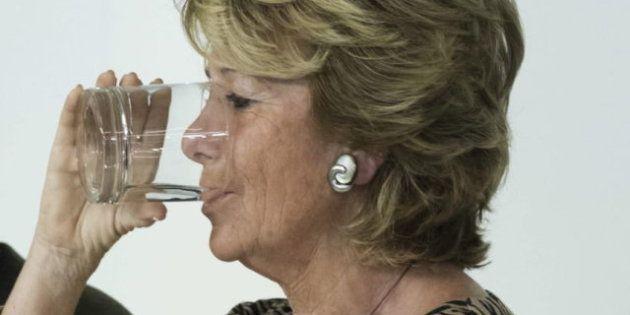 Esperanza Aguirre se estrena en la empresa privada: su primer día en Seeliger y
