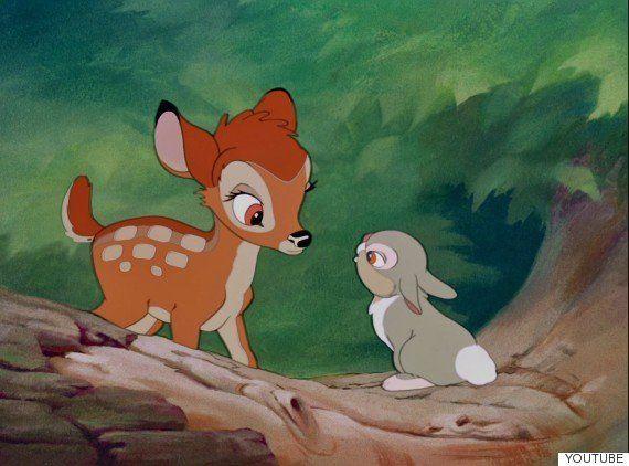 Bambi, Tambor, ¿sois vosotros?: el parecido razonable más tierno