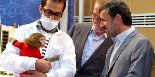 Mahmud Ahmadineyad dispuesto a ser el primer iraní en viajar al