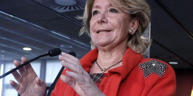 Esperanza Aguirre pide