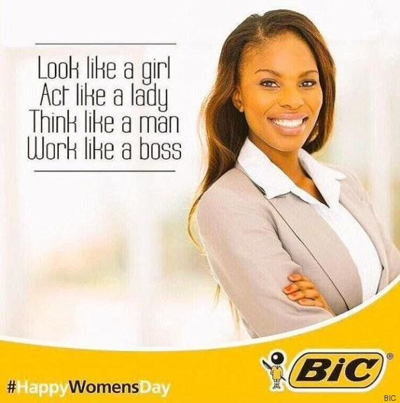 Bic se disculpa por una campaña sexista el Día de la Mujer en