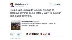 María Escario lamenta los comentarios que ha recibido por publicar este