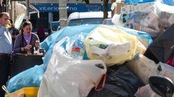 Hasta 6.000 toneladas de basura se acumulan en