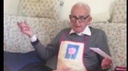El enfado de un pensionista al enterarse de que su pensión va a subir dos euros