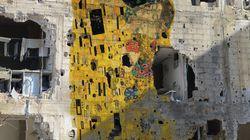 Tammam Azzam: 'El Beso' de Klimt entre las ruinas sirias se hace viral