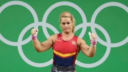 Lidia Valentín, medalla de bronce en