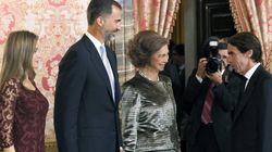 Aznar reaparece en el 12-O ante la