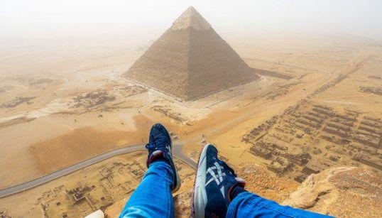 Esa ocasión en la que casi me detienen por escalar la Gran Pirámide de