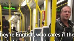 Ataque racista a dos españoles en un tren: así les defendieron los