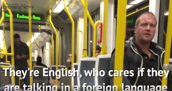 Ataque racista a dos españoles en un tren de Manchester: así les defendieron los