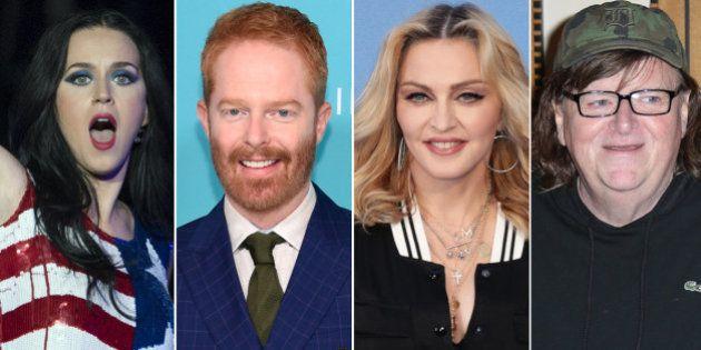 Actores y cantantes reaccionan a la victoria de Donald