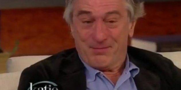 Lágrimas de Robert De Niro: el actor rompe a llorar en televisión hablando de 'El lado bueno de las cosas'