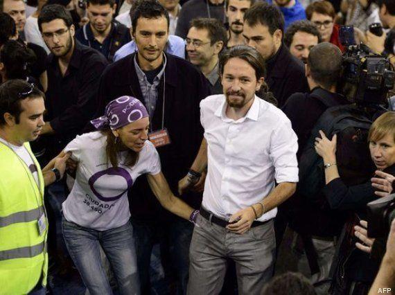 Manuela, la autora del azote a Pablo Iglesias: