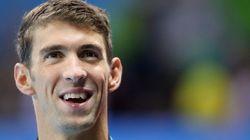 La foto de Michael Phelps que te dejará con la boca