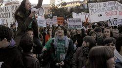 Miles de estudiantes ponen fin a la semana de lucha con una tercera manifestación contra la 'Ley Wert'