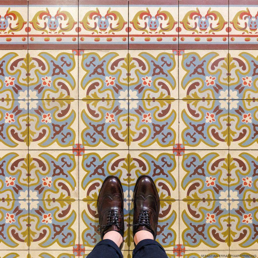 Londres como nunca antes la habías visto: los suelos más llamativos de la capital británica