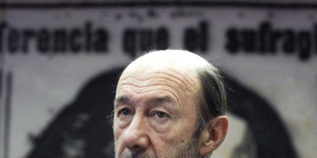 Rubalcaba asegura que el proyecto europeo está