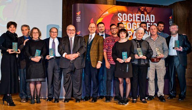 Premios SGE 2015: los hijos de Julio
