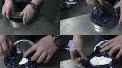 71 kilos de cocaína en latas de higos en