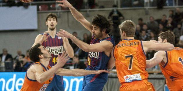 El Barcelona gana al Valencia (85-69) y se hace con la Copa del Rey de Baloncesto