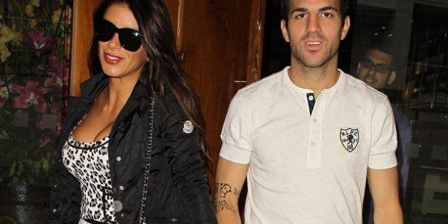 El futbolista del Barcelona Cesc y su pareja Daniella Semaan serán padres en