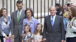La Familia Real culmina sus vacaciones con la misa de Pascua en Palma