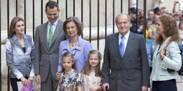 Fotos de la Familia Real en Palma: los reyes, los príncipes, Leonor y Sofía y la infanta Elena en la...