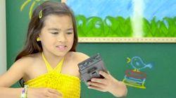 Así reaccionan los niños al ver un walkman