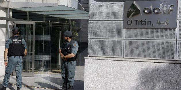 Catorce detenidos por el presunto sobrecoste de 82 millones en obras de AVE en