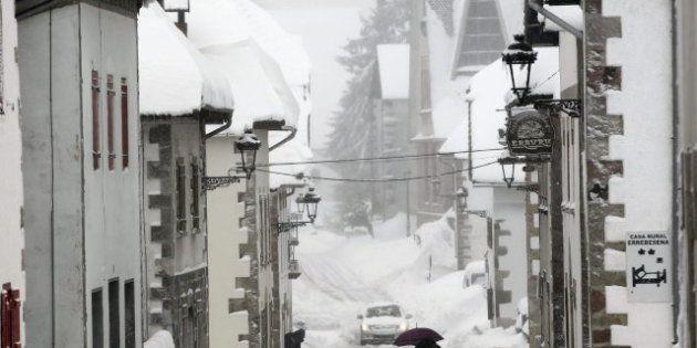 Temporal de nieve y viento en España: 39 provincias en alerta