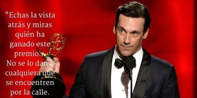Las mejores frases de los ganadores y presentadores de los Premios Emmy 2015
