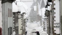 España, en alerta por viento y nieve