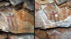 Destrozan una cueva rupestre en Jaén