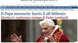 Así ve la prensa la renuncia de Benedicto XVI