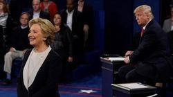 Clinton y Trump frente a la