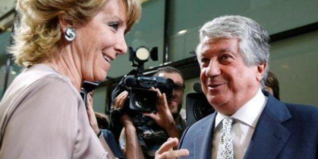 Esperanza Aguirre sale en defensa de Arturo Fernández: