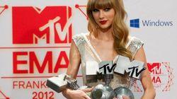 Internet triunfa en los EMA (sí, y Taylor y Justin también)
