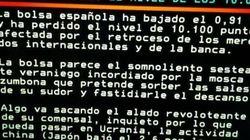 Un poético escrito sobre bolsa en el Teletexto se hace viral